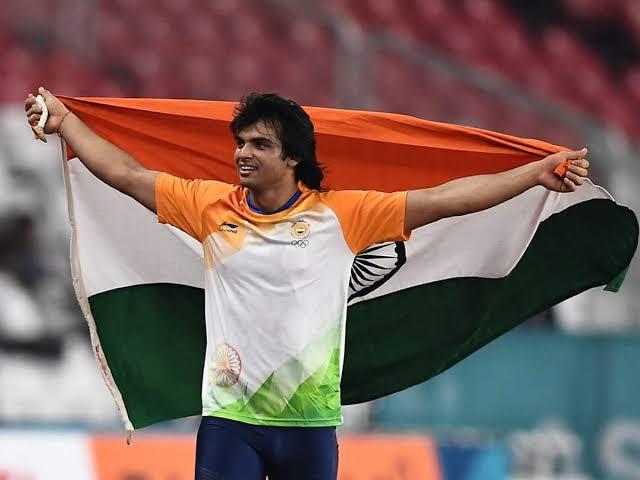 नीरज चोपड़ा ने भारत का पहला गोल्ड मेडल